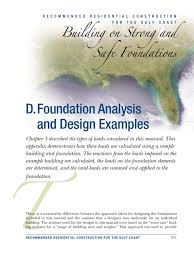 foundation analysis and design sample column structural load