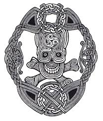Celtic Skull - celtic skull knot by ppunker on deviantart