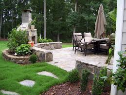 backyard corner firepit ideas of corner outdoor fireplaces classic