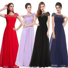 wedding evening dresses bridesmaids formal dresses ebay