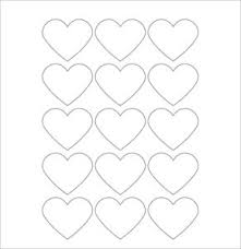blank label template hearts free printable blank label template