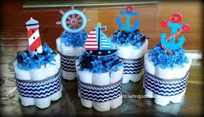 anchor baby shower decorations set of 5 mini nautical cake nautical theme natical