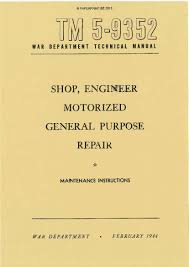 gmc paperprint wwii military vehicle manuals
