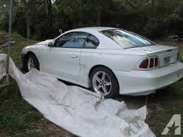 1995 ford mustang gt for sale 1995 ford mustang gt pearl white manual 120k mi for sale in