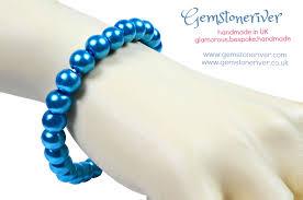 pearl bracelet ebay images Blue pearl single line bracelet pasha mother of bride special jpg