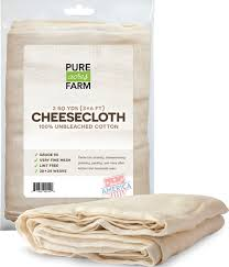 pure grade 50 100 unbleached cotton cheesecloth strain 2 yards