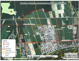 Refineries In Usa Map by Putting Research Into Action In Garyville Louisiana Bucket