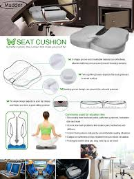 Seat Cushion For Sciatica Amazon Com Coccyx Seat Cushion Mudder Memory Foam Seat Pads For