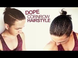 what is corn rowing in hair dope cornrow hairstyle men s hair youtube