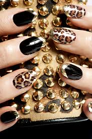 65 examples of nail art design leopard print nails leopards and
