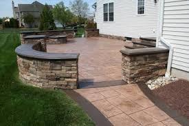 custom outdoor fire pits custom outdoor stairs built in cream ridge nj retaining wall