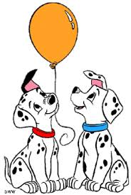 puppies 101 dalmations 1961 clip art colored 2