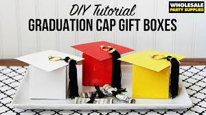 graduation box diy graduation cap favor box party ideas activities by