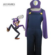 Halloween Costumes Stores Cheap Waluigi Halloween Costume Aliexpress