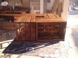 Coffee Table Out Of Pallets by Coffee Table Out Of Repurposed Crates U2022 1001 Pallets