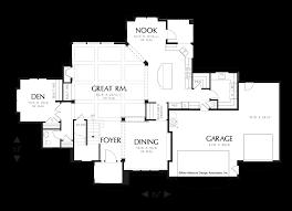 Huge Floor Plans by Mascord House Plan 2378 The Hartville