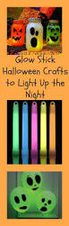 glow stick halloween crafts kids that light up the night