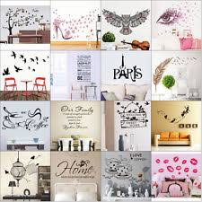 Full Wall Stickers For Bedrooms Wall Stickers Ebay