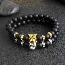 lucky beads bracelet images Lucky charm leopard bracelet wdstyle jpg