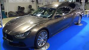 stanced maserati ghibli go out in style with the new maserati ghibli hearse