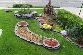 flower bed edging materials