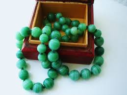 coloured beads necklace images Vintage 1960s chinese export to usa necklace with jadeide jpg