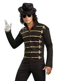 michael jackson licensed military jacket halloween costume 80s mj