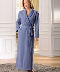 robe de chambre en robe de chambre en molleton polaire cocooning