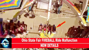 Ohio State Car Flags Ohio State Fair Fireball Ride Malfunction New Details Youtube