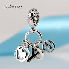 s day charms authentic 925 sterling silver bead i you hanging charm