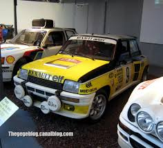 renault 5 turbo group b renault 5 turbo tour de corse cité de l u0027automobile collection