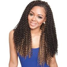 model model crochet hair caribbean water wave girl beauty supply