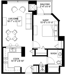 Chicago Apartment Floor Plans Floor Plan Focus South Loop Rentals U2013 Yochicago