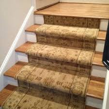 home decor wonderful carpeted stair treads to complete vinyl