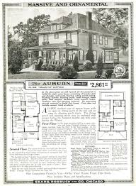 2861 00 sears auburn house includes plans and materials 4