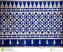 Moroccan Pattern Art Moroccan Wall by Moroccan Zellige Tile Pattern Stock Photo Image 32653930