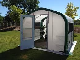 Backyard Greenhouse Diy Fabric Greenhouses Backyard U0026 Temporary Weatherport