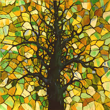 tree of ife stain glass for sale tree landscape painting