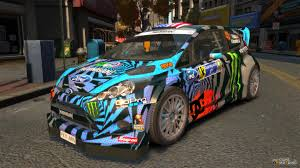 hoonigan cars ford fiesta rallycross ken block hoonigan 2013 for gta 4