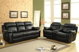 Reclining Sofa With Center Console Reclining Sofa And Loveseat Sets With Console Glif Org