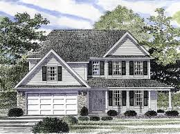 traditional 2 story house plans garden hill colonial style home plan 034d 0041 house plans and more