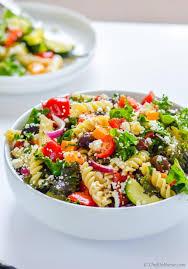 deli style pasta salad with kale recipe chefdehome com