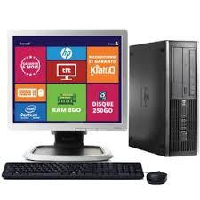 ordinateur hp de bureau pc de bureau hp 6000 pro ecran 19 pouces prix pas cher cdiscount