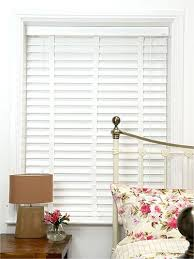 Timber Blinds Review White Wooden Wide Slat Venetian Blinds 64mm Slats Look Of