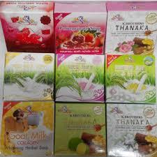 K Collagen original k soap rice milk milk collagen honey