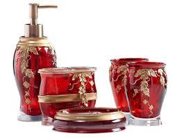 Burgundy Bathroom Accessories by S Cute Red Bathroom Accessories Fresh Home Design Decoration