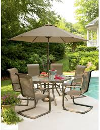Patio Furniture Set With Umbrella by Cost Stunning Patio Furniture Sets On Sears Patio Umbrella
