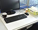 durable 711219 duraglas anti glare desk mat non slip 40 x 53 cm
