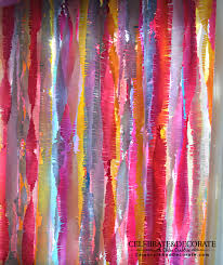 backdrop paper s tips crepe paper backdrop tutorial celebrate decorate
