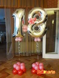 mylar balloon number birthday original palloncini grosseto globos